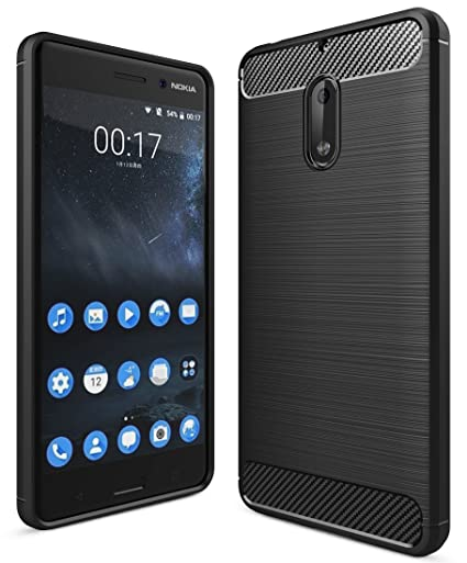 new products 579ab 873a7 Nokia 6 Back Cover Case, Armor Shock Proof TPU for: Amazon.in ...