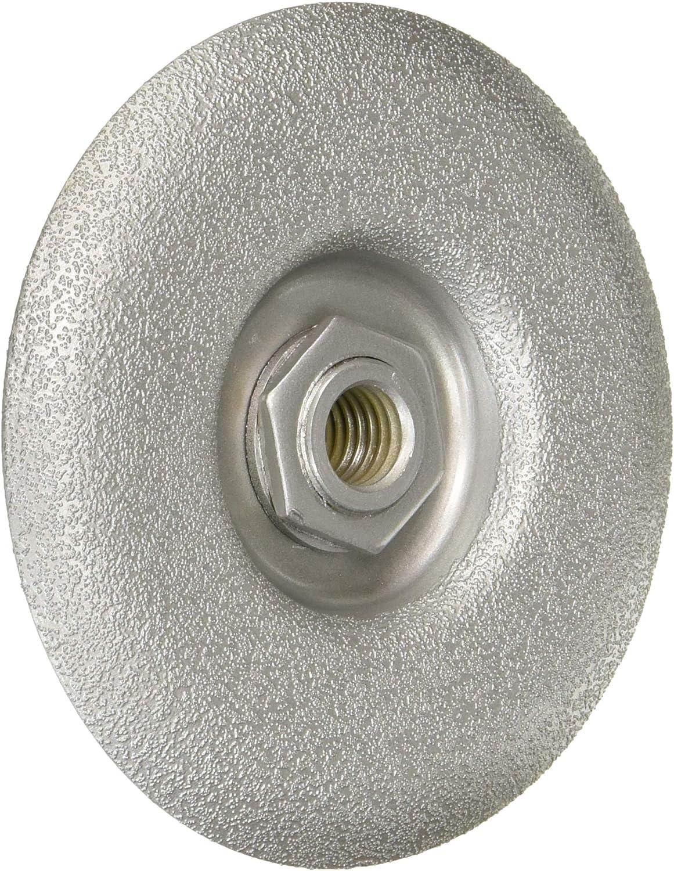 "4.5"" Convex Brazed Diamond Cup Wheel 5/8-11 - Medium"