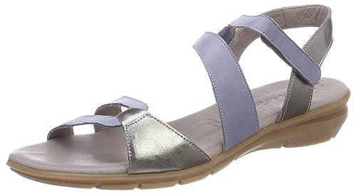 124f2a200521 Tamaris Damen 28711 Slingback Sandalen  Amazon.de  Schuhe   Handtaschen