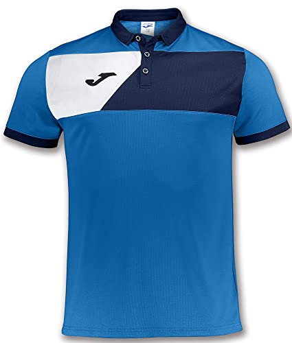 Joma Teamwear Polo Short Sleeves Crew II Royal