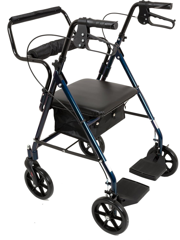 Amazon.com: Andador Roscoe de transporte médico con ...