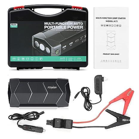 Amazon.com: FCONEGY - Arrancador de batería portátil para ...