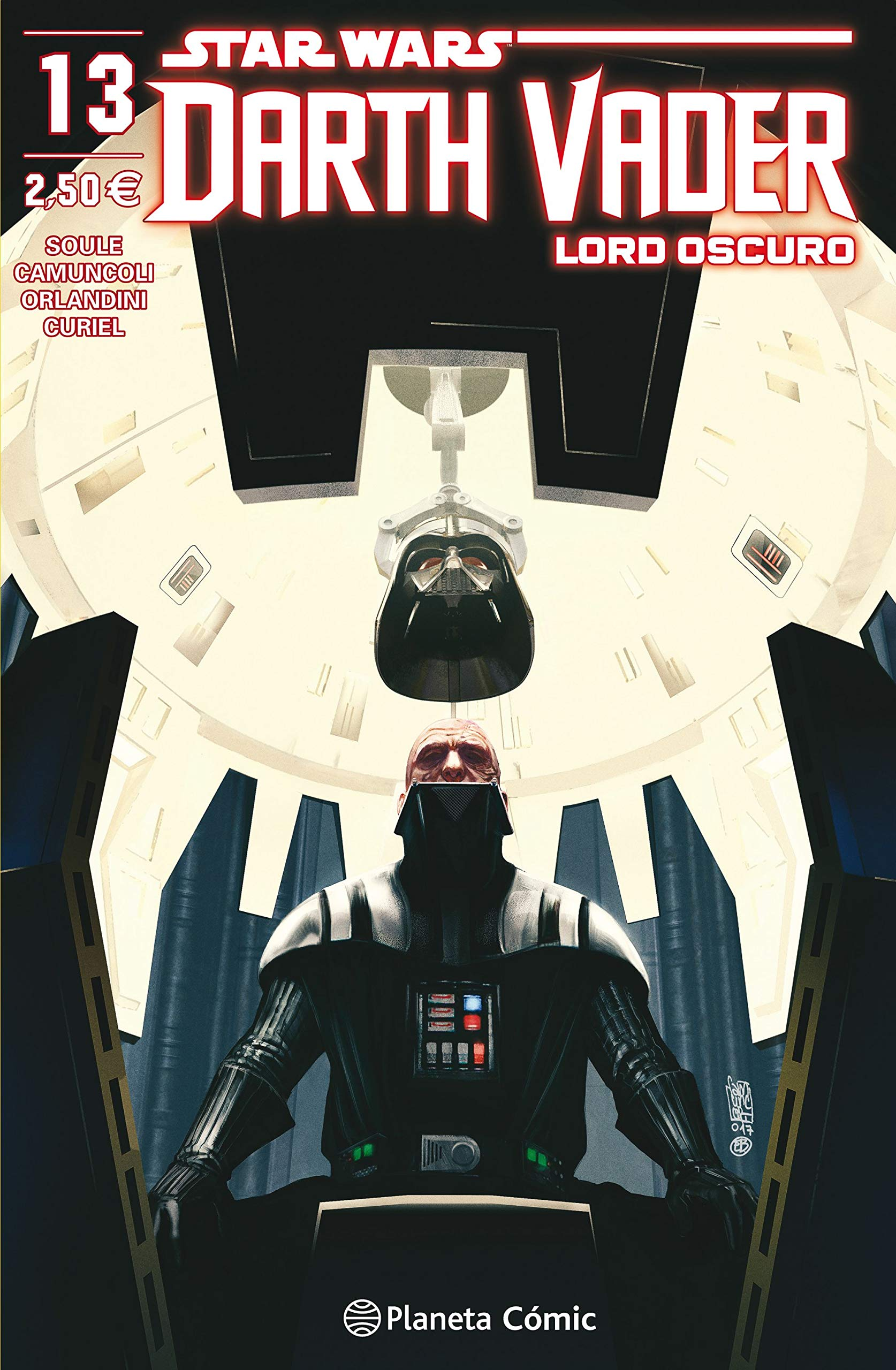 Star Wars Darth Vader Lord Oscuro nº 13 (Star Wars: Cómics Grapa Marvel)