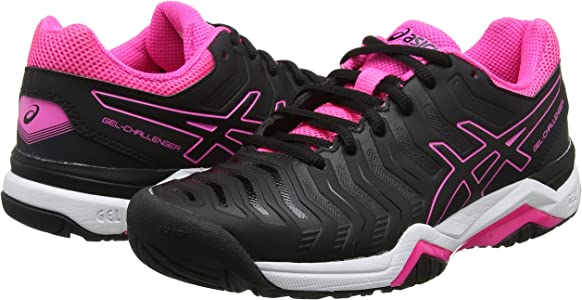 Asics Gel-Challenger 11, Zapatillas de Tenis para Mujer, Negro ...