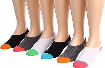 converse no show socks. converse cut-for-chucks 6-pair pack multi women\u0027s no show socks shoes f