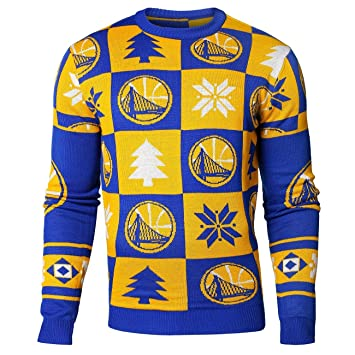 Golden State Warriors parches Crew esquina NBA Ugly Sweater ...