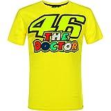 ヤマハ(YAMAHA) Tシャツ VR46 ヴァレンティーノ ロッシ 46&ザ・ドクターロゴ イエロー Lサイズ(欧州) Q5D-YSK-546-00L