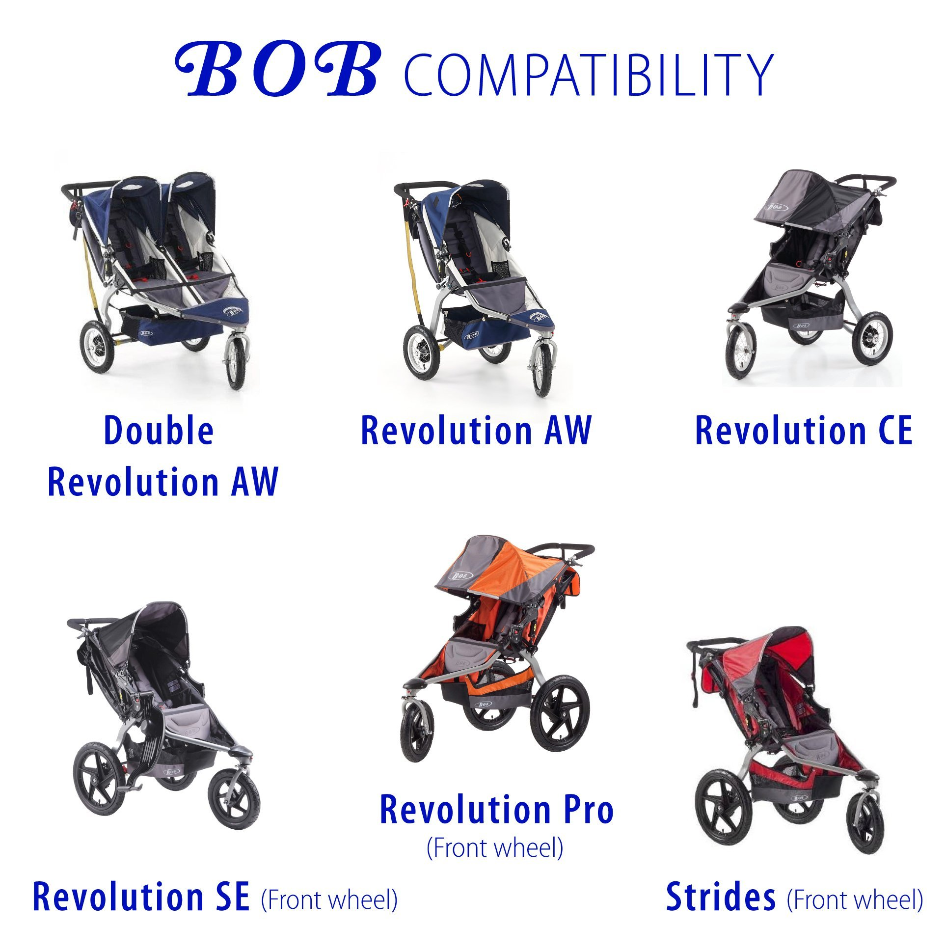 (Front tire & Tube) for BOB Revolution Pro Stroller by Lineament (Image #2)