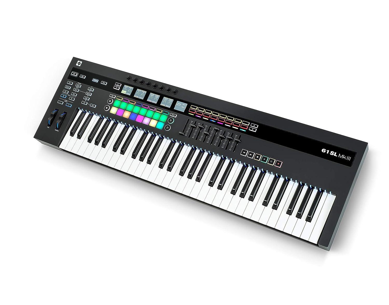 Novation AMS-SL61-MK3 - Controlador Midi (61 teclas): Amazon.es: Instrumentos musicales