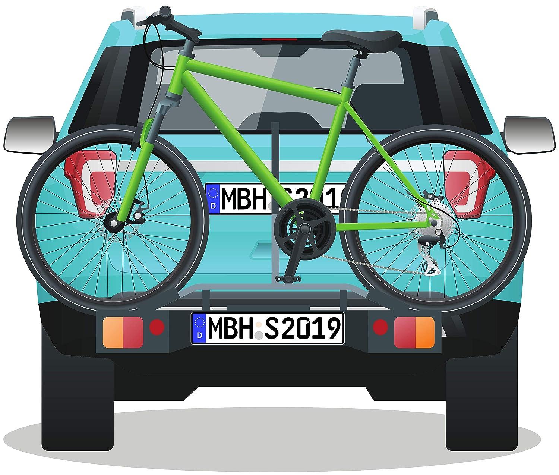 MBH-Shop Parkplatzschild KFZ-Kennzeichen Nummernschild Wunschtext PRIVAT BESUCHER KUNDEN
