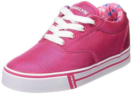 HEELYS Launch 770699 - Zapatos una rueda para niñas, Fuchsia/Printed Lining, 36.5 EU: Heelys: Amazon.es: Zapatos y complementos