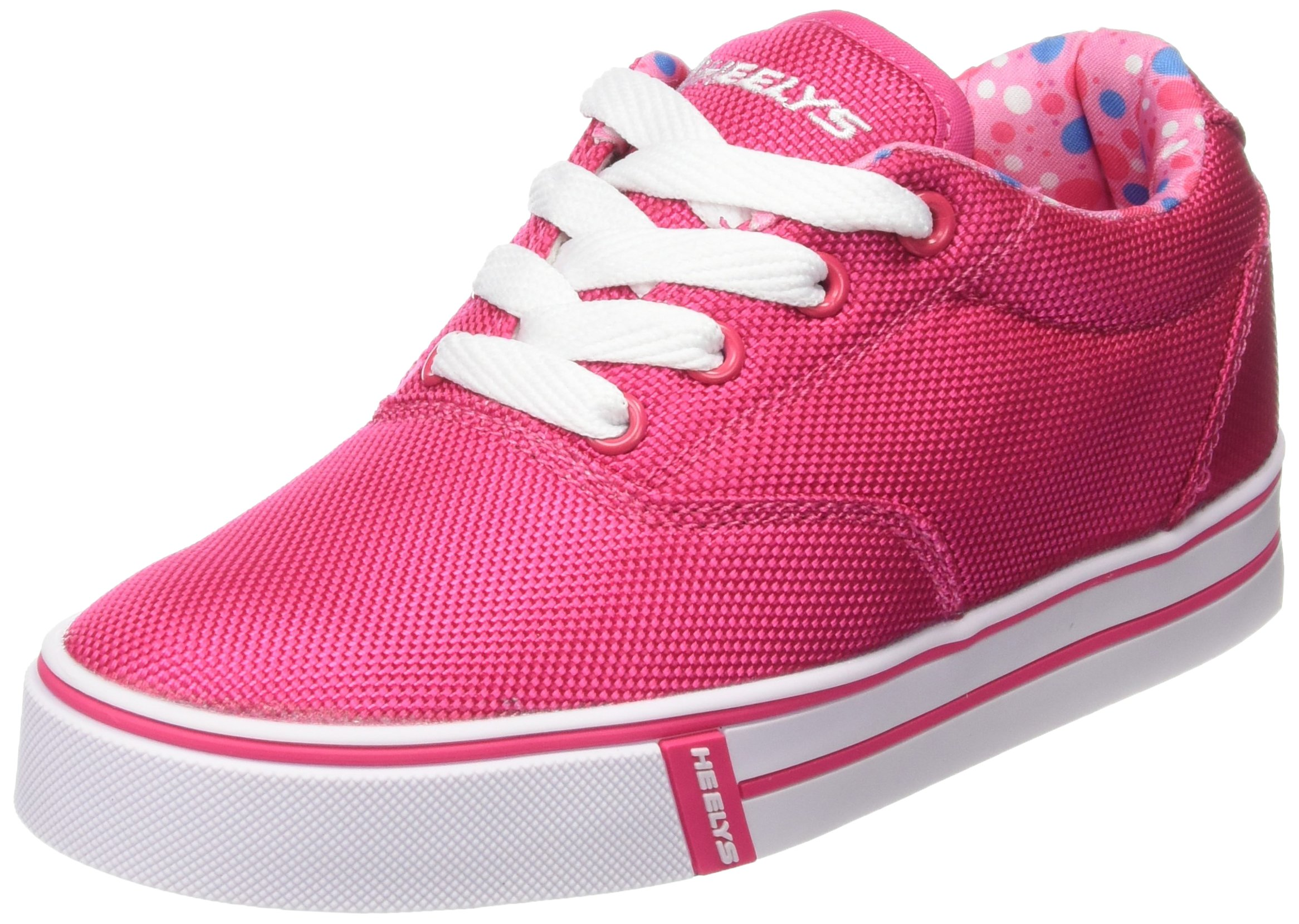Kids Heelys Launch Printed Lining Fuchsia 770699 (4 M US Big Kid) by Heelys