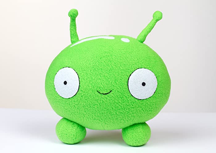 Handmade plush Mooncake inspired by Final Space,