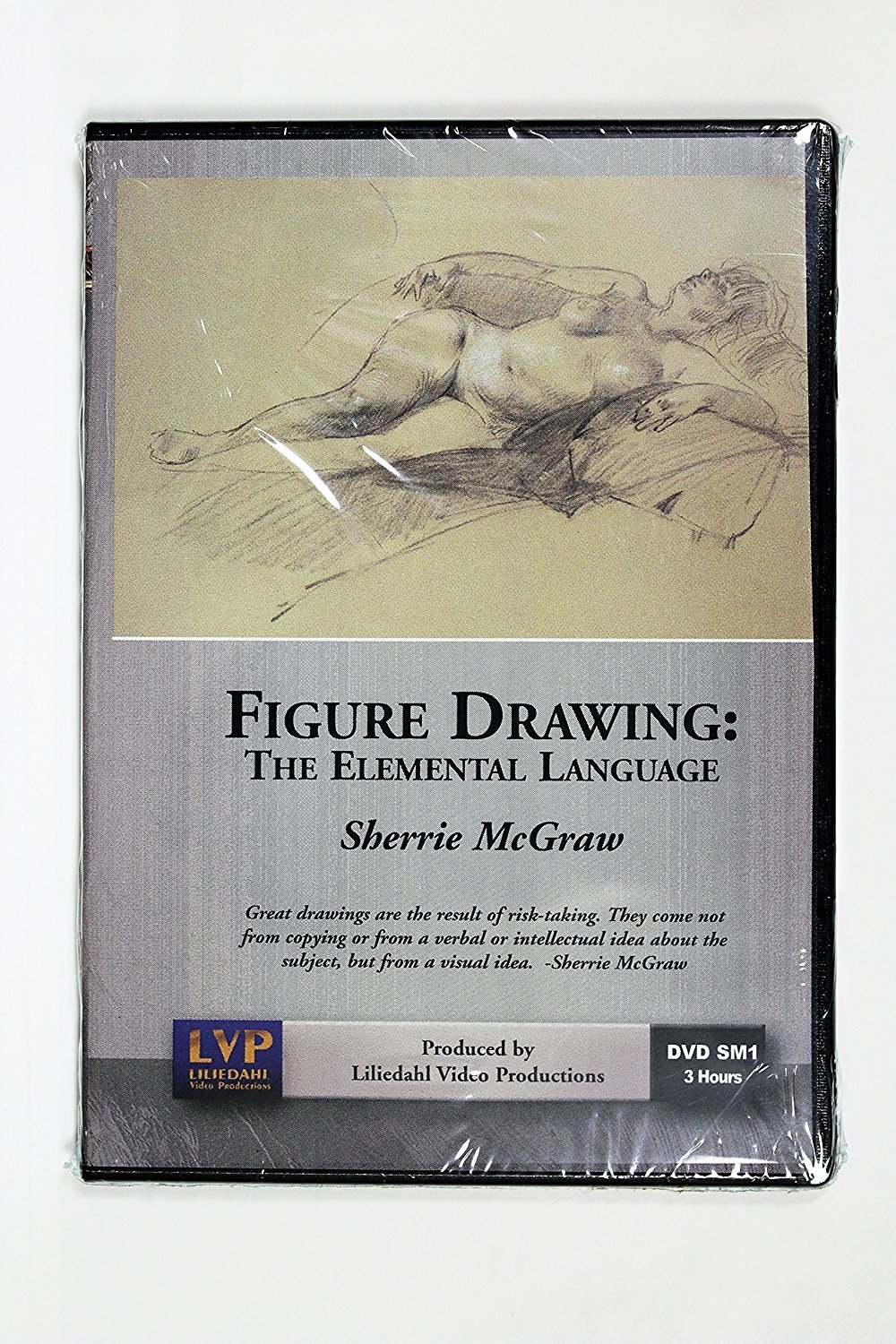 Sherrie McGraw's Figure Drawing, The Elemental Language (Drawing the Figure) 3 Hour DVD DSM-1
