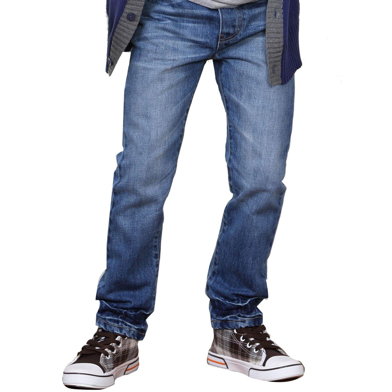Leo&Lily Boys Big Boys Jeans LLB601