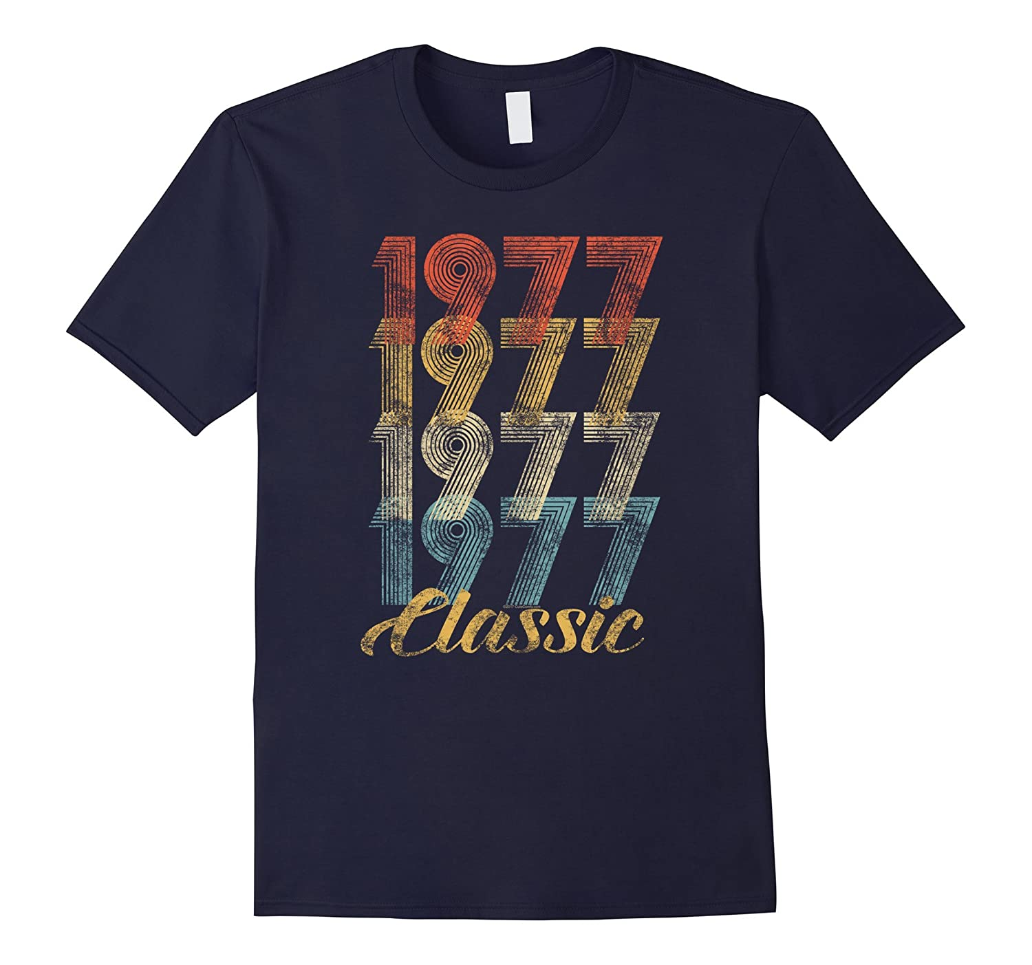 40th Birthday Gift Vintage 1977 T-Shirt for Men & Women-T-Shirt