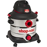 Shop-Vac 5989400 8 Gallon 6.0 Peak HP Stainless Wet Dry Vacuum (Black)