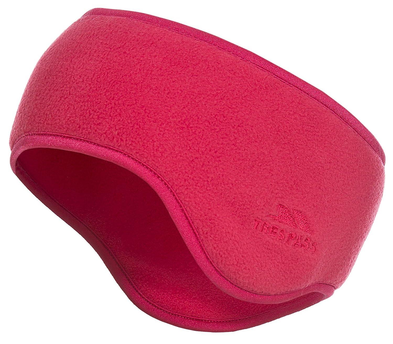 Trespass Lorax, Raspberry, Headband with Ear Warmers, Double Sided Fleece Adult Unisex, Pink UAHSHAI20001_RASEach