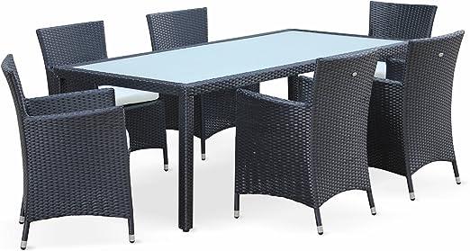 Alice\'s Garden - Ensemble de jardin table et fauteuils en ...