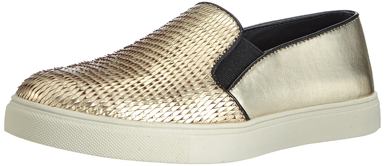 e1b3b089b17 Steve Madden Women s ECENTRICG Trainers Gold Gold (Gold) 8  Amazon.co.uk   Shoes   Bags