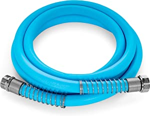 Camco EvoFlex 10-Foot Hose | 5/8-inch Diameter | Designed for Recreational Use | Drinking Water Safe | Super Flexible (22592)