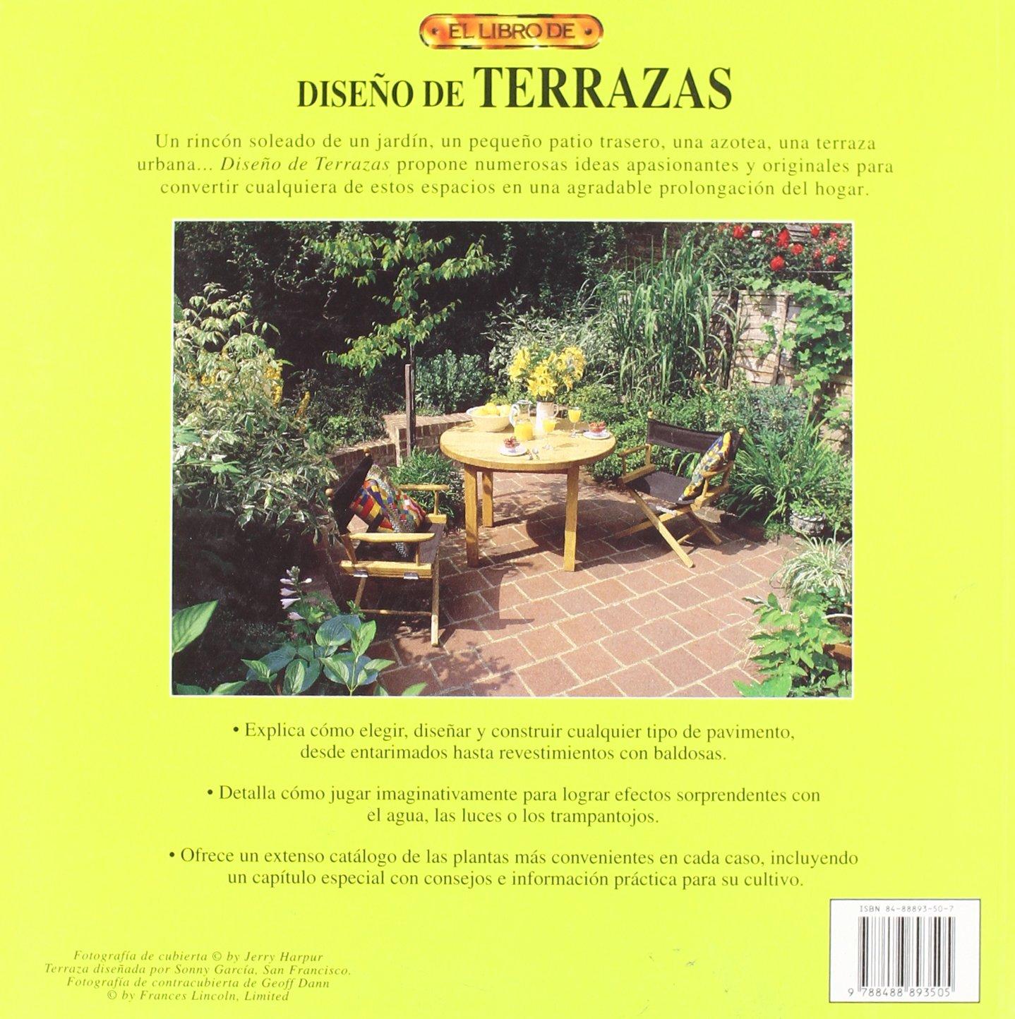 El Libro De Diseno De Terrazas Spanish Edition Hazel