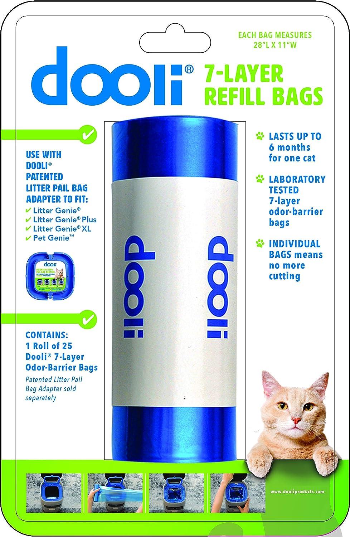 Amazon.com: Litter Genie Compatible bolsa recambios, 23 x 11 ...