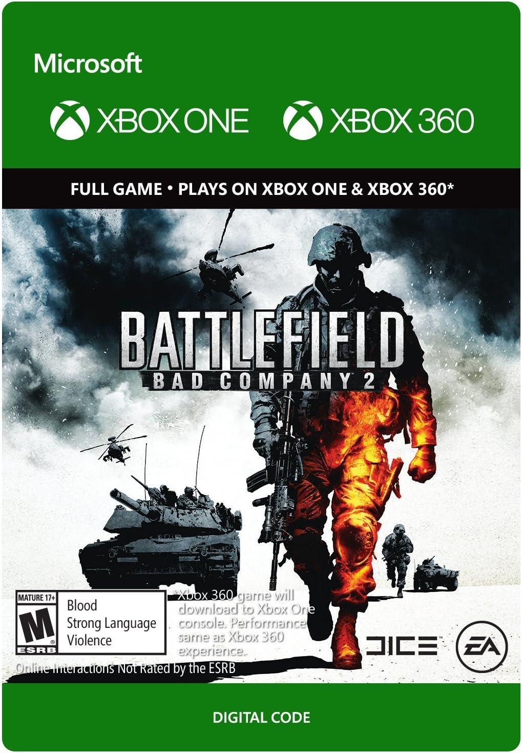 Amazon com: Battlefield: Bad Company 2 - Xbox 360 / Xbox One