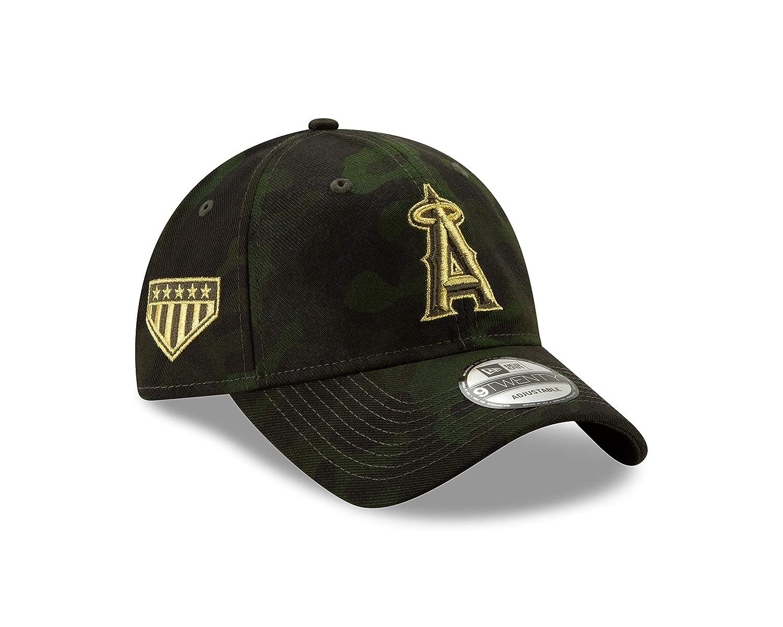bdfca80b1fee5b Amazon.com : New Era Los Angeles Angles 2019 MLB Armed Forces Day 9TWENTY  Adjustable Hat - Camo : Sports & Outdoors