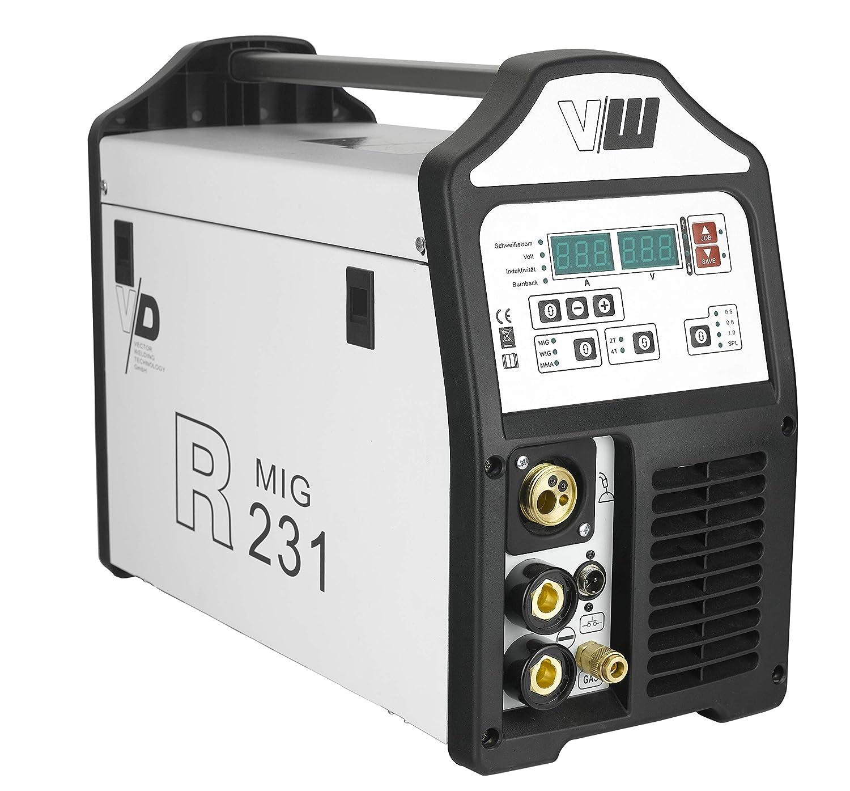 Vector Digital sudor dispositivo R231 Mig Mag Wig MMA S de mano bloque Rod - Gas profesional: Amazon.es: Bricolaje y herramientas