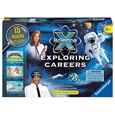 Ravensburger Science X Exploring Careers Activity Kit: Toys & Games [5Bkhe0305455]