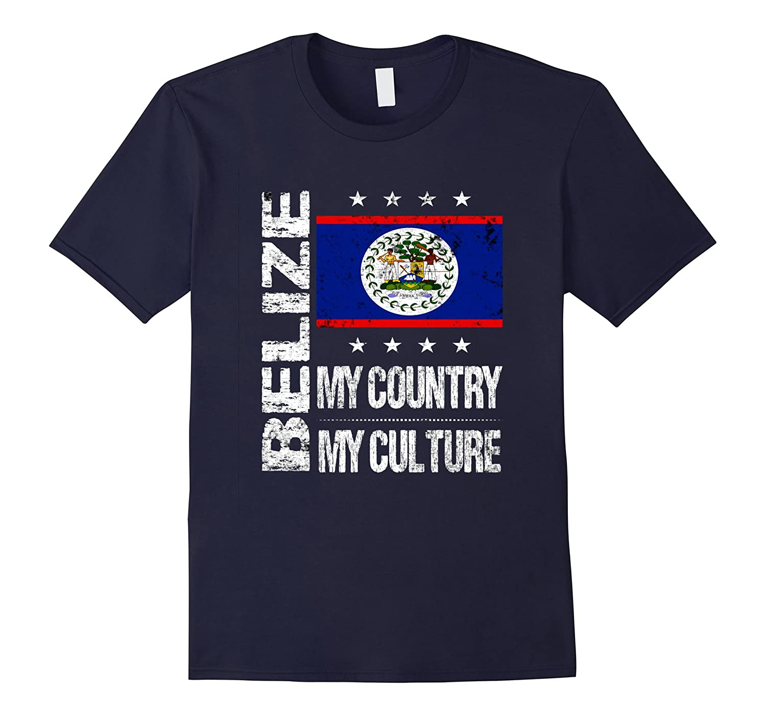 Belize My Country My Culture Belizean Pride T-Shirt-T-Shirt