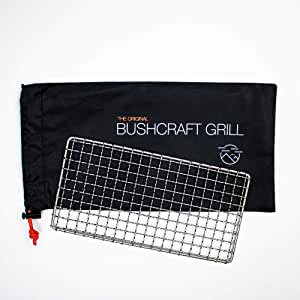 Bushcraft Grill - Welded Stainless Steel High Strength Mesh (Campfire Rated) - Expedition Research LLC, USA