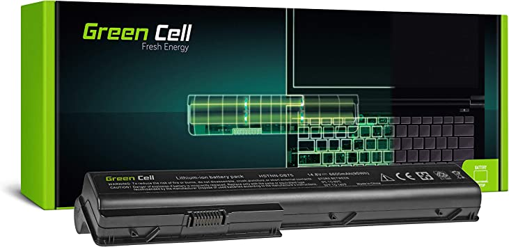 Green Cell® Extended Serie HSTNN-DB75 HSTNN-IB75 Batería para HP ...