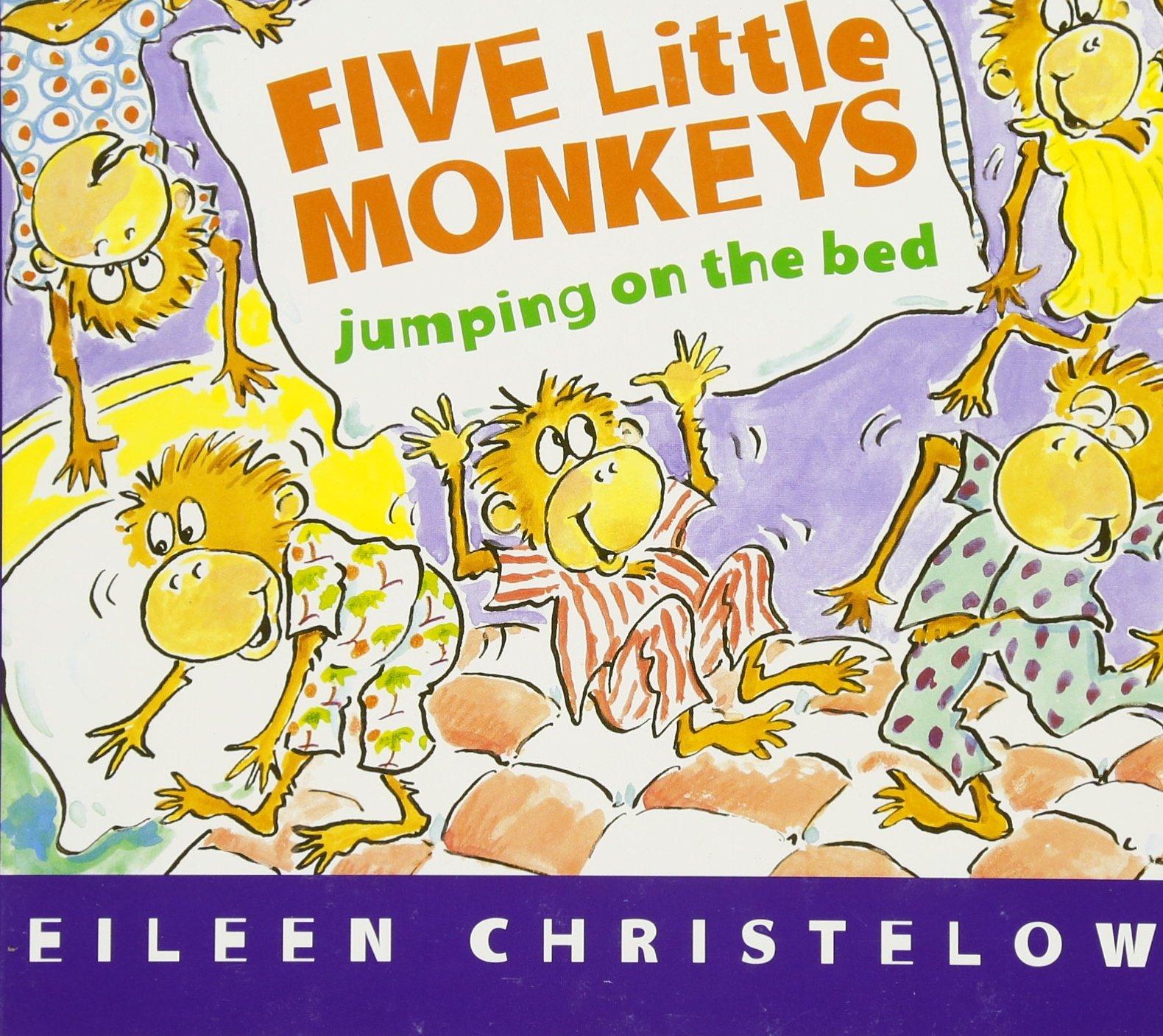 Five Little Monkeys Jumping On The Bed  Board Book   A Five Little Monkeys Story