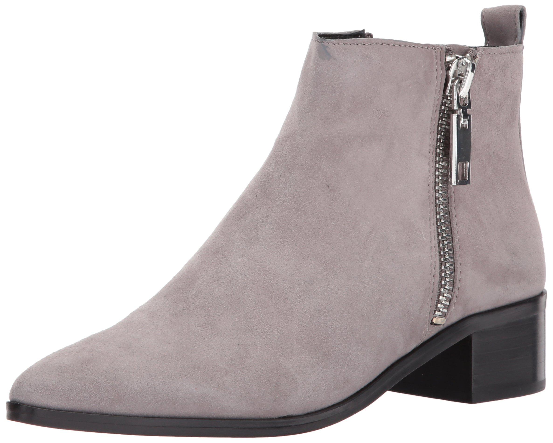 Dolce Vita Women's Marra Fashion Boot, Smoke Suede, 9.5 Medium US