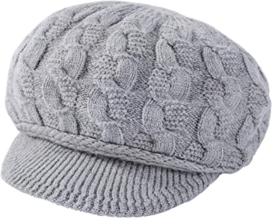 Assorted Colors to Choose From Winter Beanie with Visor