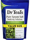 Dr Teal's Pure Epsom Salt Soaking Solution,Relax & Relief with Eucalyptus & Spearmint, 7 Lb Bag - Bath Soak Salts with…