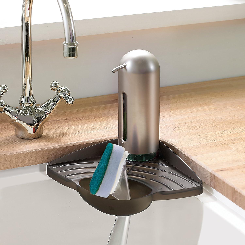Amazon Umbra Cove Sink Corner Shelf White Home & Kitchen