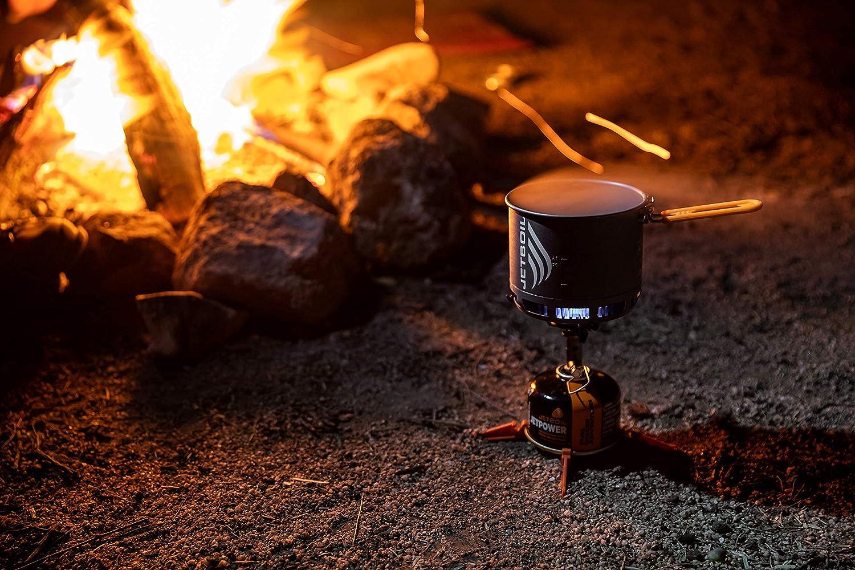 ジェットボイル (JETBOIL) アウトドア 登山 キャンプ バーナー スタッシュ 【日本正規品】 1824400 グレー 13cm