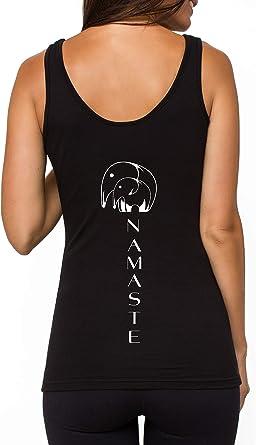 TREELANCE Camiseta de algodón orgánico Entrenamiento de Yoga y ...