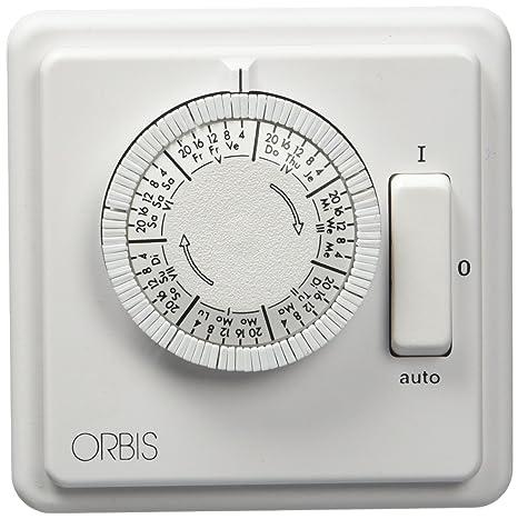 Orbis OB280439 - Ilumatic 258 s analógica empotrado,