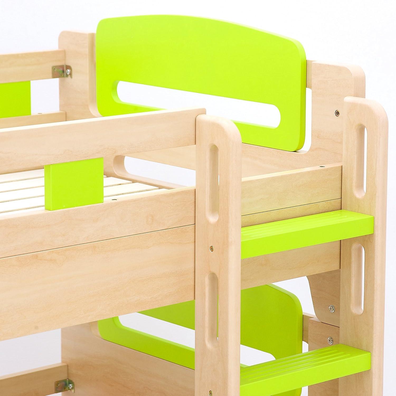 Amazon|二段ベッド kuhmo(クーモ) JIS・SG規格適合設計 エコ塗装