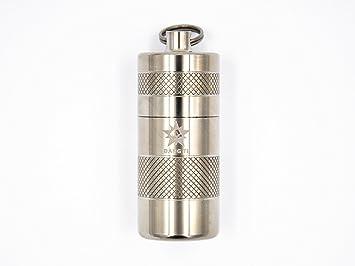 new concept 8be40 677e7 Doingoutdoor Titanium Metal Pill Box CR123 Battery Holder Waterproof ...