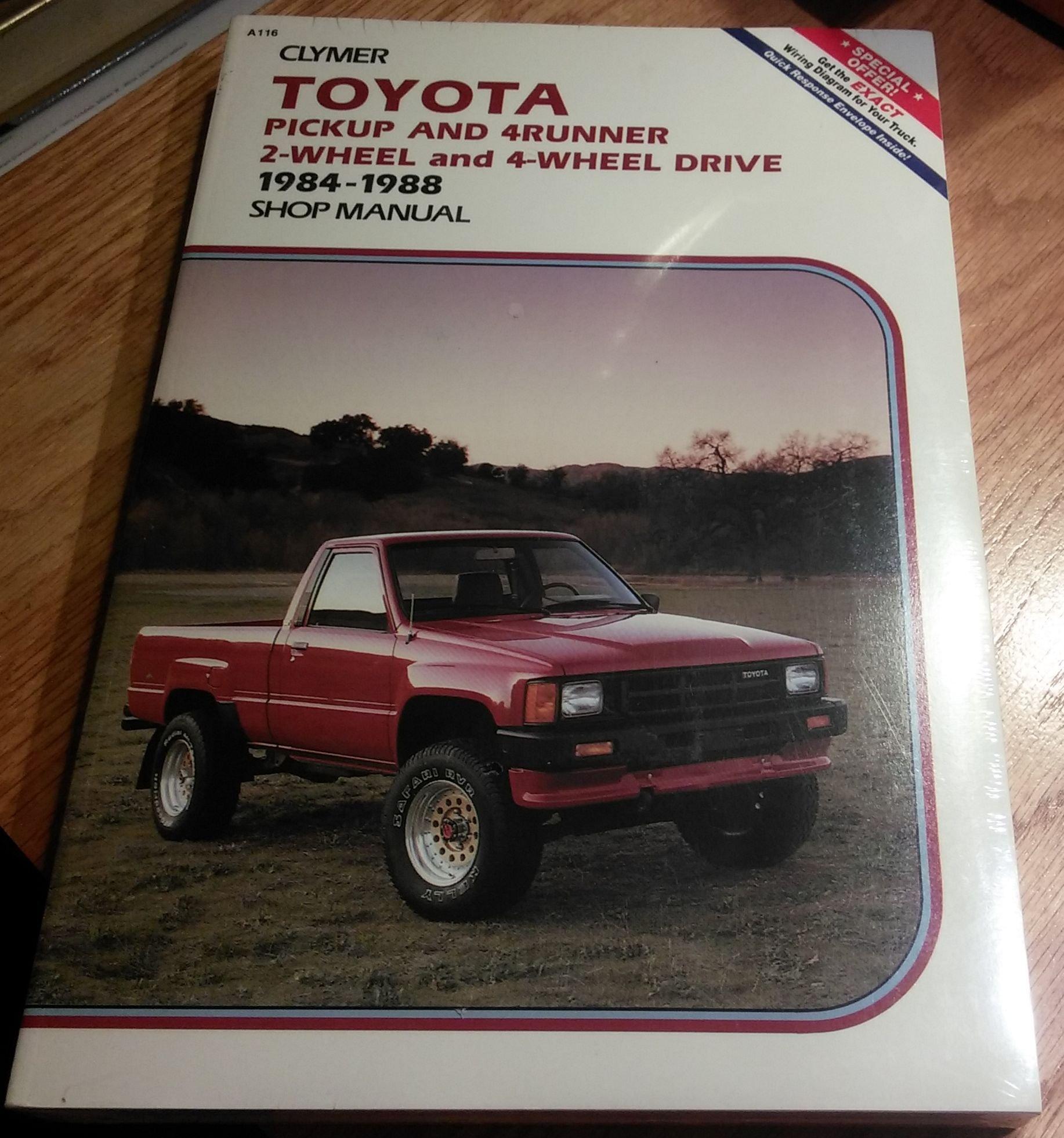 1984 toyota truck manual enthusiast wiring diagrams u2022 rh rasalibre co 2006 Toyota 4Runner 2008 Toyota 4Runner