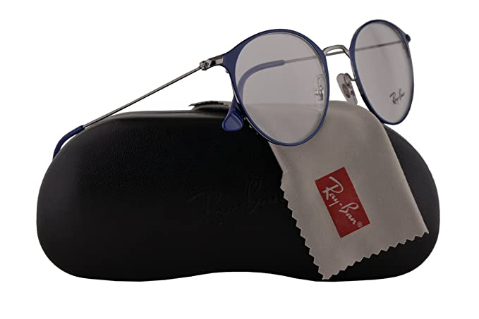 34659777b1f Image Unavailable. Image not available for. Colour  Ray Ban RX6378 Eyeglasses  49-21-145 Gunmetal ...