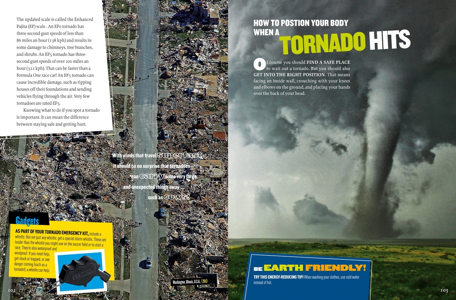 Extreme Weather: Surviving Tornadoes, Sandstorms, Hailstorms, Blizzards,  Hurricanes, and More! (National Geographic Kids): Thomas M. Kostigen: ...