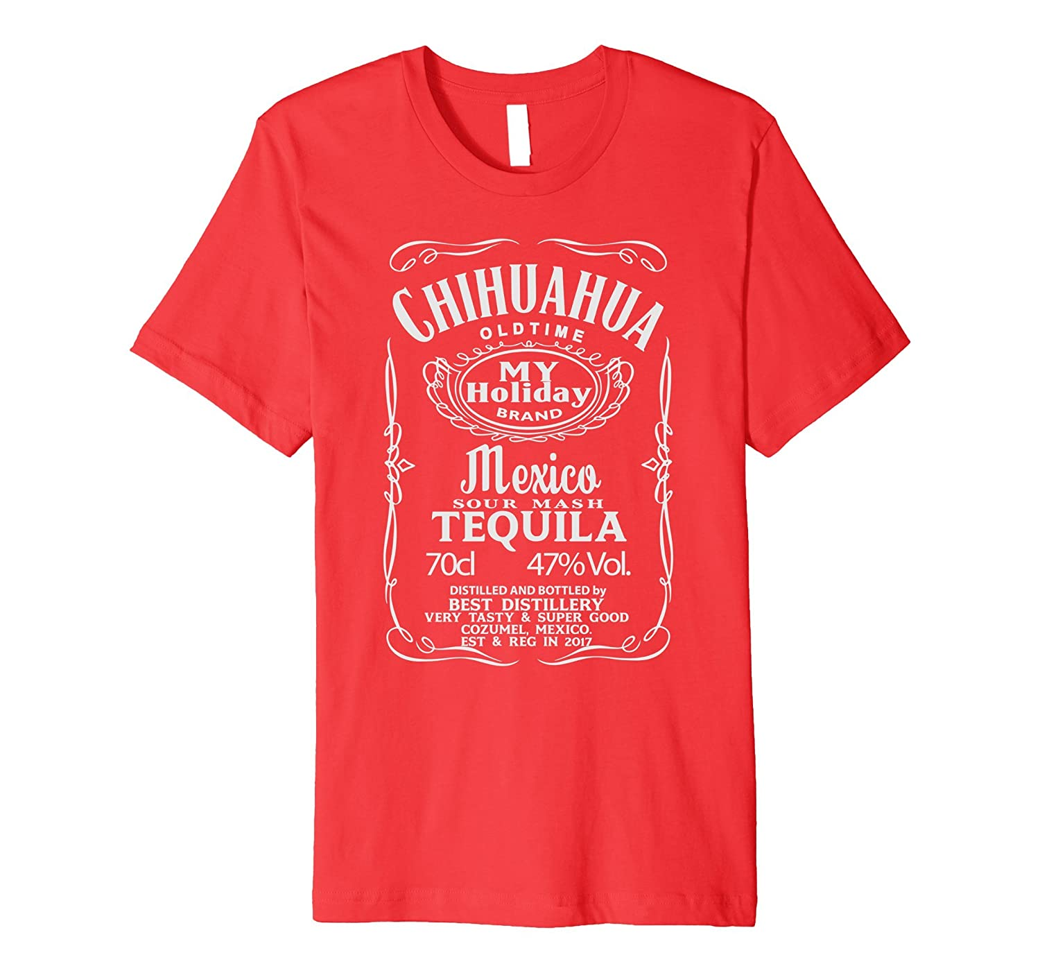 CHIHUAHUA - Mexico Tequila T-Shirt - Slim Fit-TH