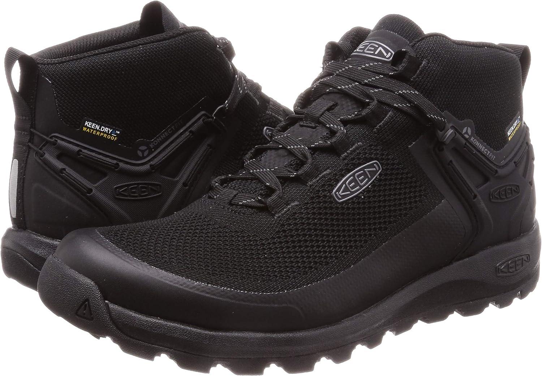 KEEN Citizen Evo Mid Waterproof Homme Boots Noir