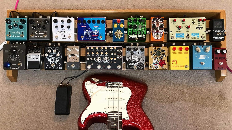 Kit de construcción de cables de patch sin soldaduras, para pedales de guitarra. Incluye 10 conectores de 1/4